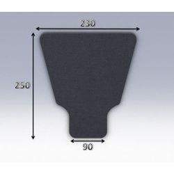 Mousse de selle néoprène type 21