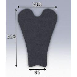 Mousse de selle néoprène type 35