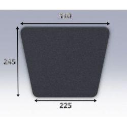 Mousse de selle néoprène type 42