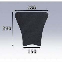 Mousse de selle néoprène type 56