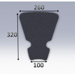 Mousse de selle néoprène type 58