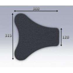 Mousse de selle néoprène type 36