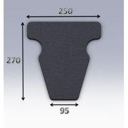 Mousse de selle néoprène type 49
