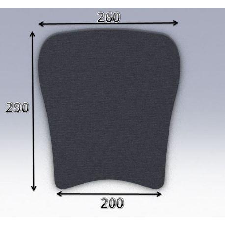 Mousse de selle néoprène type 50
