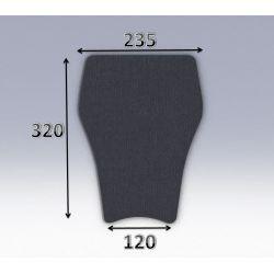 Mousse de selle néoprène type 55