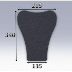 Mousse de selle néoprène type 61
