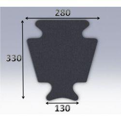 Mousse de selle néoprène type 62