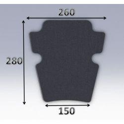 Mousse de selle néoprène type 63