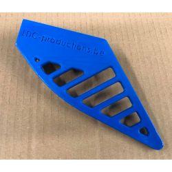 Protection couronne en plastique universelle ,couleur sur demande bleu ,noir , rouge , jaune etc