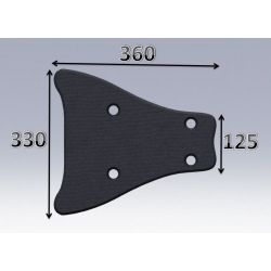 Mousse de selle néoprène type 66
