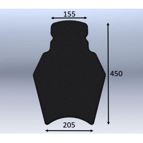 Mousse de selle néoprène type 70